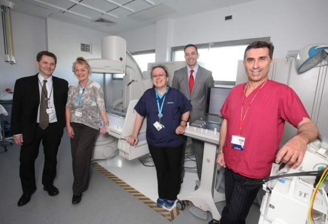 CENTRAL MIDDLESEX HOSPITAL FINDS ITS NEW TOSHIBA ULTIMAX-i FLUOROSCOPY SYSTEM EXCELLENT FOR PATIENT ACCESS