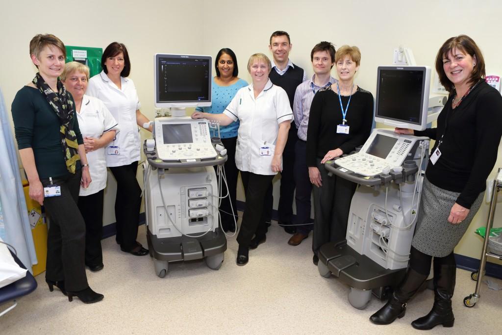 Queen Elizabeth Gateshead Ultrasound