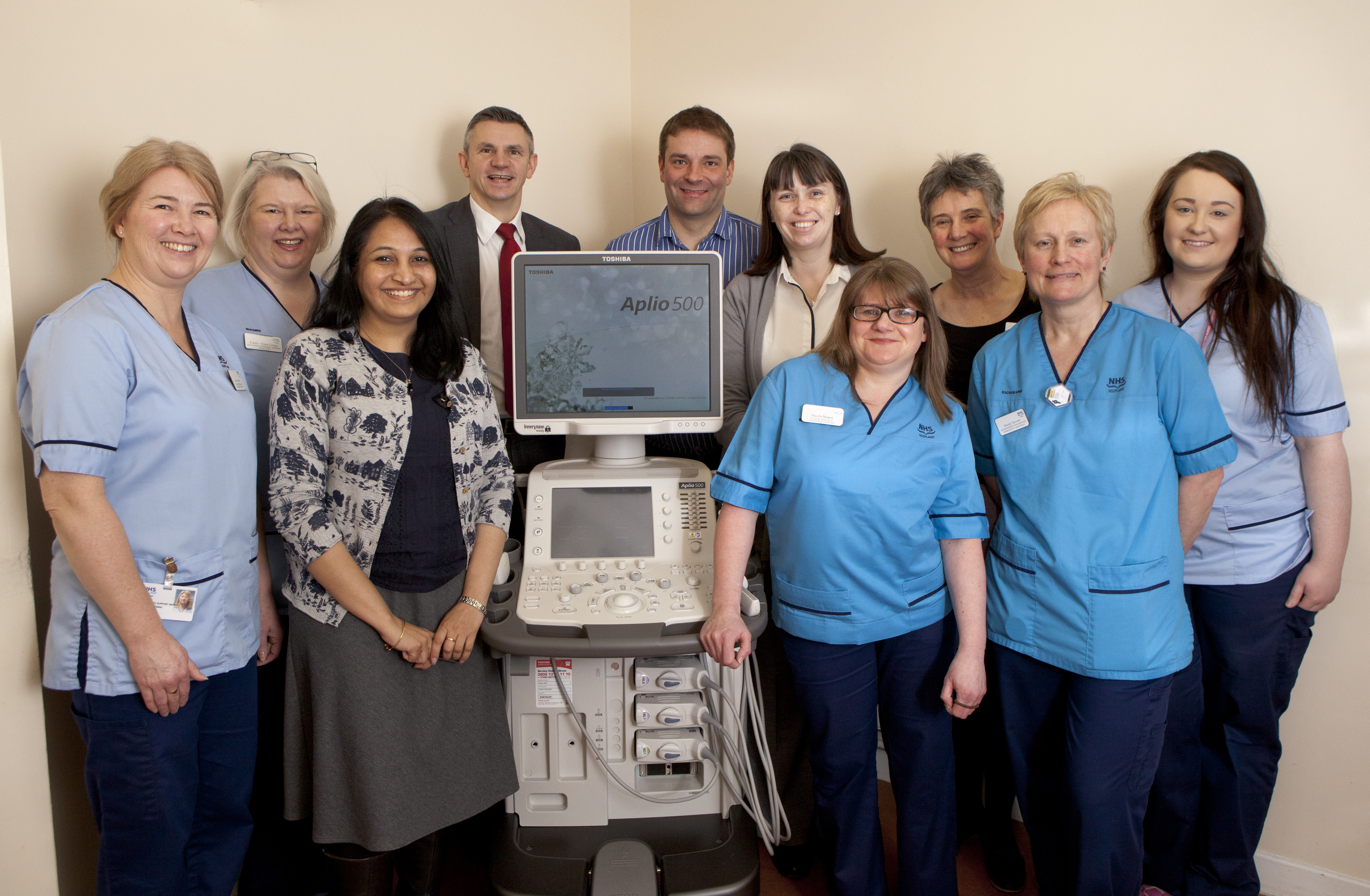 EDINBURGH WESTERN GENERAL HOSPITAL TAKES DELIVERY OF TWO TOSHIBA
