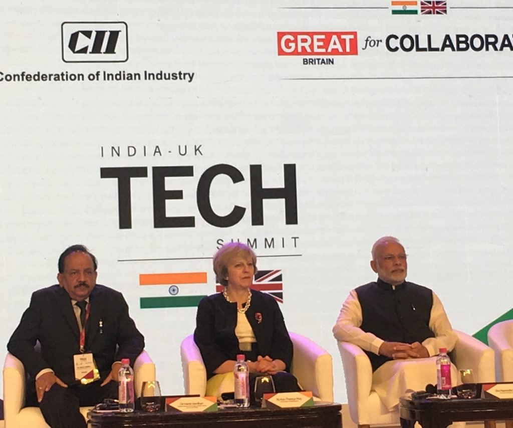 India Tech Summit - Official Announcement with PM's