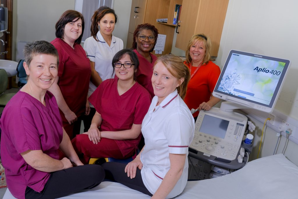 north manchester general hospital recently invested in two canon medical systems ultrasound scanners one of the new systems will be used for antenatal